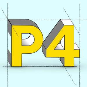 P4 logo for AREP site